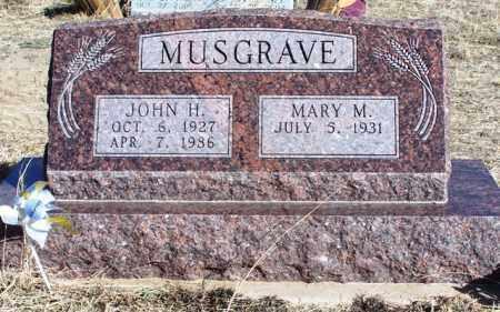 MUSGRAVE, JOHN H - Morgan County, Colorado   JOHN H MUSGRAVE - Colorado Gravestone Photos
