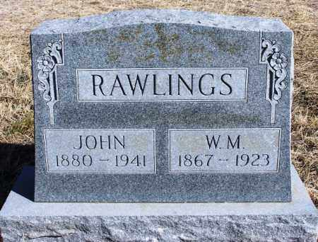 RAWLINGS, JOHN - Morgan County, Colorado   JOHN RAWLINGS - Colorado Gravestone Photos