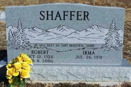 SHAFFER, ROBERT - Morgan County, Colorado | ROBERT SHAFFER - Colorado Gravestone Photos