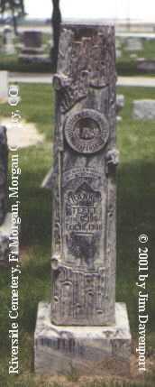TEFFT, FRANK M. - Morgan County, Colorado   FRANK M. TEFFT - Colorado Gravestone Photos