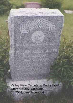 ALLEN, RACHELL VIOLA - Otero County, Colorado | RACHELL VIOLA ALLEN - Colorado Gravestone Photos