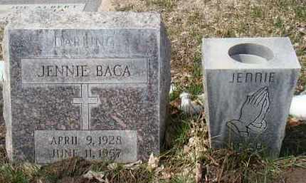 BACA, JENNIE - Otero County, Colorado   JENNIE BACA - Colorado Gravestone Photos