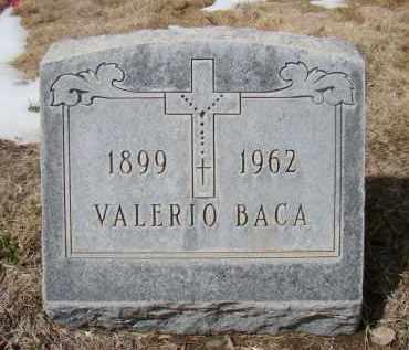 BACA, VALERIO - Otero County, Colorado | VALERIO BACA - Colorado Gravestone Photos