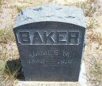 BAKER, JAMES M - Otero County, Colorado   JAMES M BAKER - Colorado Gravestone Photos