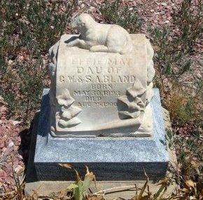 BLAND, EFFIE MAY - Otero County, Colorado | EFFIE MAY BLAND - Colorado Gravestone Photos