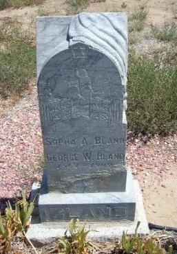 BLAND, SOPHIA ANN - Otero County, Colorado | SOPHIA ANN BLAND - Colorado Gravestone Photos