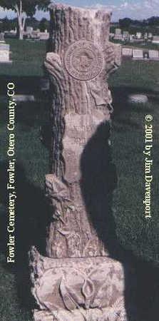 BROWN, ANDREW H. - Otero County, Colorado   ANDREW H. BROWN - Colorado Gravestone Photos