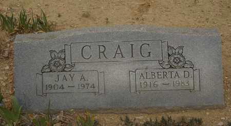 CRAIG, JAY A. - Otero County, Colorado | JAY A. CRAIG - Colorado Gravestone Photos