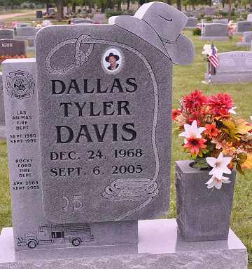 DAVIS, DALLAS - Otero County, Colorado | DALLAS DAVIS - Colorado Gravestone Photos