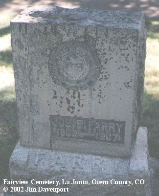 FARRY, JOS. B. - Otero County, Colorado | JOS. B. FARRY - Colorado Gravestone Photos