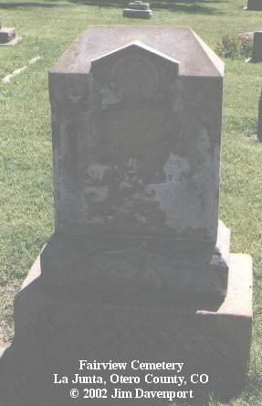 GRAY, W. R. - Otero County, Colorado | W. R. GRAY - Colorado Gravestone Photos
