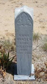 HANSEN, ANNA - Otero County, Colorado | ANNA HANSEN - Colorado Gravestone Photos