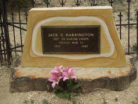 HARRINGTON, JACK G. - Otero County, Colorado | JACK G. HARRINGTON - Colorado Gravestone Photos
