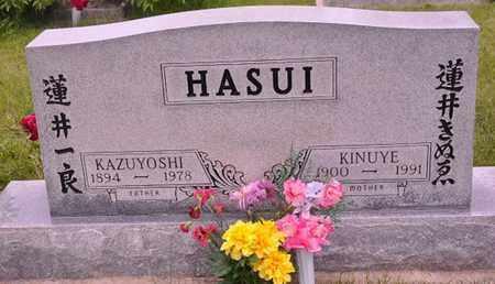 HASUI, KINUYE - Otero County, Colorado | KINUYE HASUI - Colorado Gravestone Photos