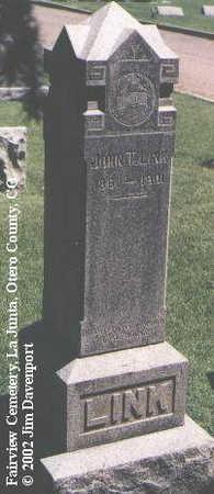 LINK, JOHN T. - Otero County, Colorado | JOHN T. LINK - Colorado Gravestone Photos