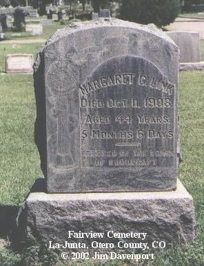 LINK, MARGARET C. - Otero County, Colorado | MARGARET C. LINK - Colorado Gravestone Photos