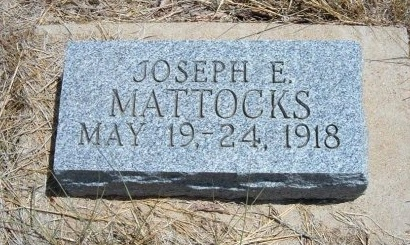 MATTOCKS, JOSEPH E - Otero County, Colorado   JOSEPH E MATTOCKS - Colorado Gravestone Photos