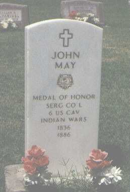 MAY, JOHN - Otero County, Colorado | JOHN MAY - Colorado Gravestone Photos