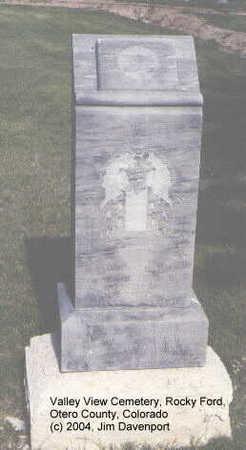 MCQUAY, WILLIAM B. - Otero County, Colorado   WILLIAM B. MCQUAY - Colorado Gravestone Photos