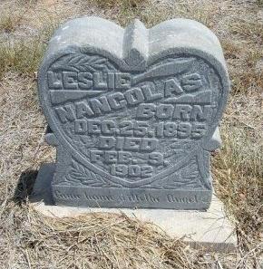 NANCOLAS, LESSLIE - Otero County, Colorado   LESSLIE NANCOLAS - Colorado Gravestone Photos
