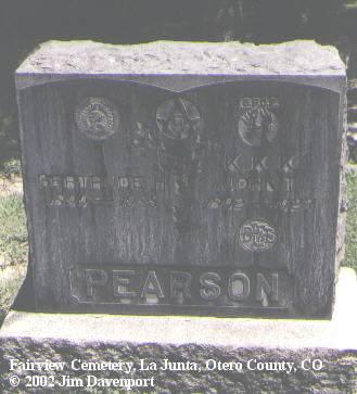 PEARSON, JOHN T. - Otero County, Colorado | JOHN T. PEARSON - Colorado Gravestone Photos