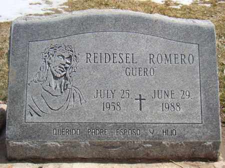 ROMERO, REIDESEL - Otero County, Colorado | REIDESEL ROMERO - Colorado Gravestone Photos