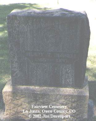 RUSSELL, HENRY T. - Otero County, Colorado | HENRY T. RUSSELL - Colorado Gravestone Photos