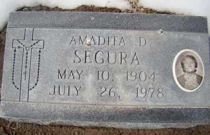 SEGURA, AMADITA D. - Otero County, Colorado | AMADITA D. SEGURA - Colorado Gravestone Photos