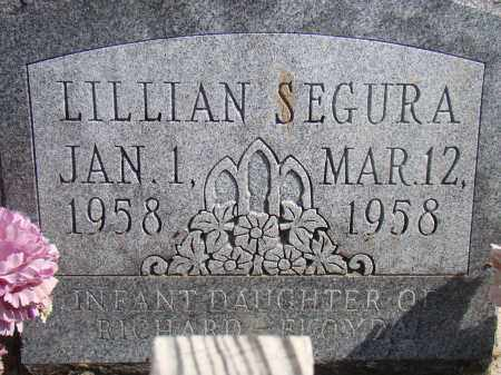 SEGURA, LILLIAN - Otero County, Colorado | LILLIAN SEGURA - Colorado Gravestone Photos