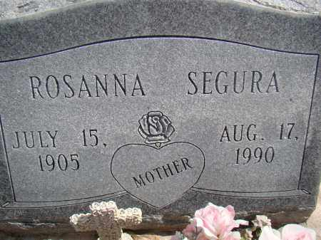 MARES SEGURA, ROSANNA - Otero County, Colorado | ROSANNA MARES SEGURA - Colorado Gravestone Photos