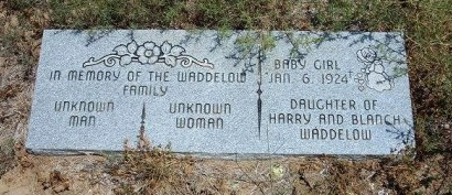 WADDELOW, BABY GIRL - Otero County, Colorado   BABY GIRL WADDELOW - Colorado Gravestone Photos