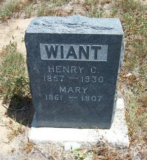 WIANT, MARY - Otero County, Colorado | MARY WIANT - Colorado Gravestone Photos