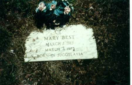 BEST, MARY - Ouray County, Colorado | MARY BEST - Colorado Gravestone Photos