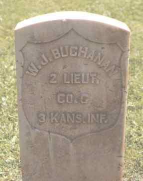 BUCHANAN, W. J. - Ouray County, Colorado | W. J. BUCHANAN - Colorado Gravestone Photos