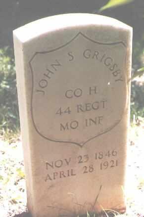 GRIGSBY, JOHN S. - Ouray County, Colorado | JOHN S. GRIGSBY - Colorado Gravestone Photos