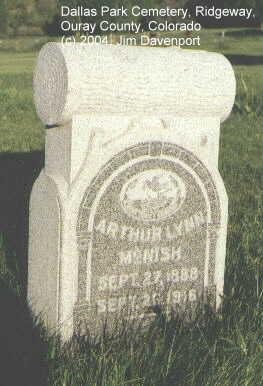 MCNISH, ARTHUR LYNN - Ouray County, Colorado | ARTHUR LYNN MCNISH - Colorado Gravestone Photos