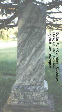 MOONEY, PETER F. - Ouray County, Colorado | PETER F. MOONEY - Colorado Gravestone Photos