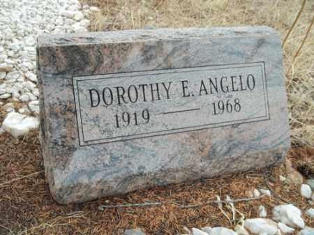 ANGELO, DOROTHY E. - Park County, Colorado | DOROTHY E. ANGELO - Colorado Gravestone Photos