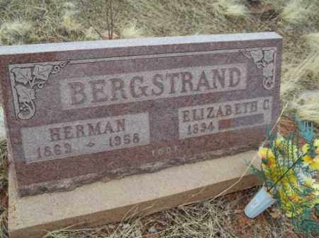 BERGSTRAND, ELIZABETH C. - Park County, Colorado | ELIZABETH C. BERGSTRAND - Colorado Gravestone Photos