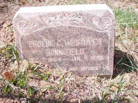 WESTOVER BONNIFIELD, PHOEBE C. - Park County, Colorado | PHOEBE C. WESTOVER BONNIFIELD - Colorado Gravestone Photos
