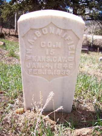 BONNIFIELD, WILLIAM A. - Park County, Colorado | WILLIAM A. BONNIFIELD - Colorado Gravestone Photos