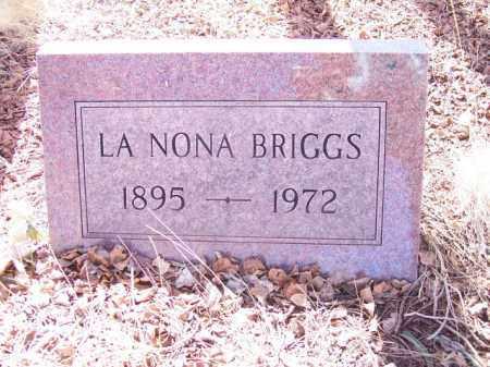 BRIGGS, LA NONA - Park County, Colorado   LA NONA BRIGGS - Colorado Gravestone Photos