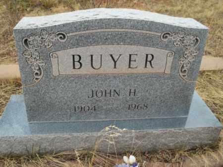 BUYER, JOHN H. - Park County, Colorado   JOHN H. BUYER - Colorado Gravestone Photos