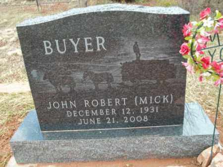 BUYER, JOHN ROBERT (MICK) - Park County, Colorado | JOHN ROBERT (MICK) BUYER - Colorado Gravestone Photos
