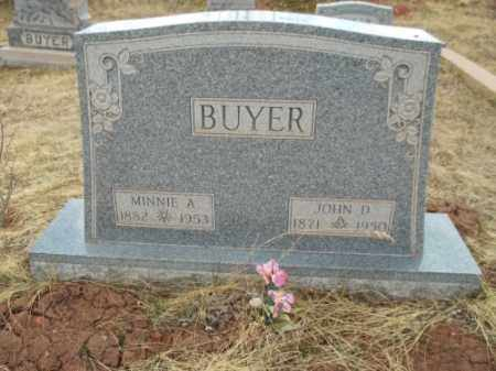 BUYER, MINNIE A. - Park County, Colorado | MINNIE A. BUYER - Colorado Gravestone Photos