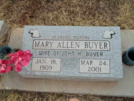 BUYER, MARY - Park County, Colorado | MARY BUYER - Colorado Gravestone Photos