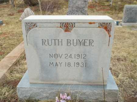 BUYER, RUTH - Park County, Colorado | RUTH BUYER - Colorado Gravestone Photos