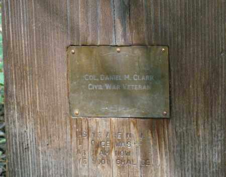 CLARK, DANIEL W. - Park County, Colorado | DANIEL W. CLARK - Colorado Gravestone Photos