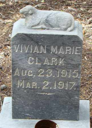 CLARK, VIVIAN MARIE - Park County, Colorado | VIVIAN MARIE CLARK - Colorado Gravestone Photos