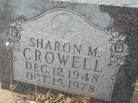 CROWELL, SHARON M. - Park County, Colorado | SHARON M. CROWELL - Colorado Gravestone Photos